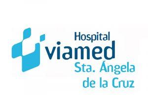 Logotipo Hospital Viamed Santa Ángela de la Cruz